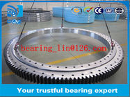 Worm drive Three-row roller slewing bearing , rollix slewing bearing