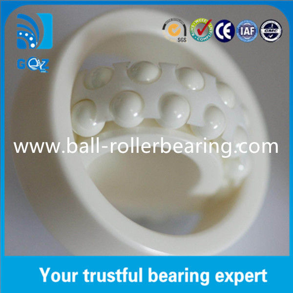 6018 Hybrid Ceramic Ball Bearings High Temperature Resistant 90 X 140 X 24 mm