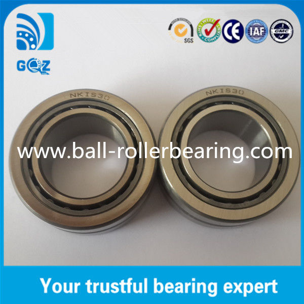 NKIS30 ID 30mm industrial Roller Bearings Chrome Steel Cold Resistance