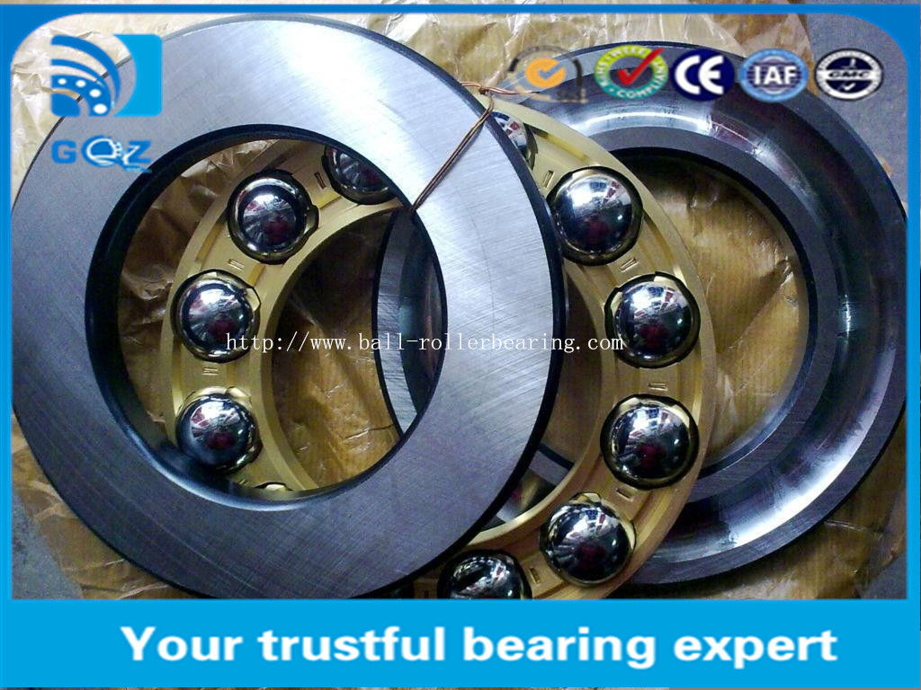 Professional 51310 Axial Engine Thrust Bearing Low Friction 50 X 95 X 31 mm