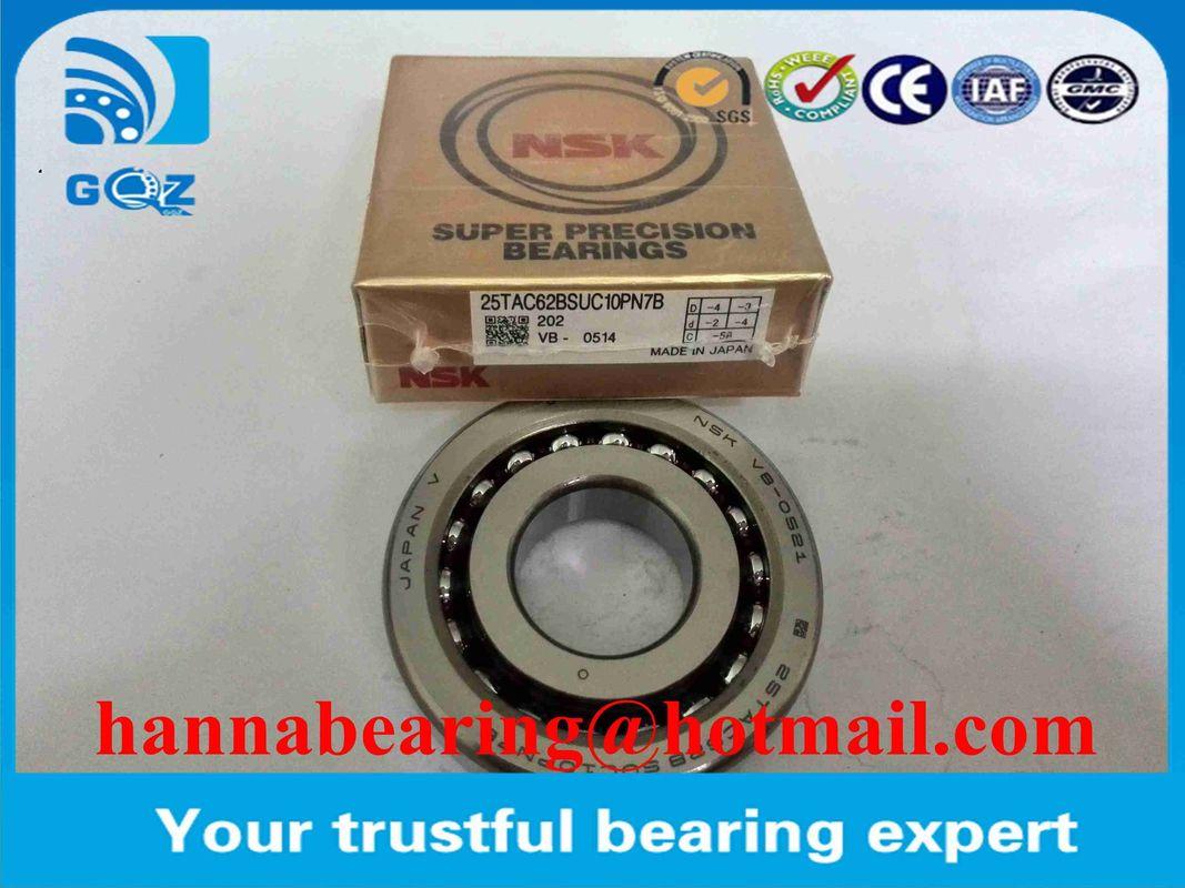 Open Type Ball Screw Support Ball Bearings 30TAC62BSUC10PN7B  30TAC62BDUC10PN7B 30x62x15mm