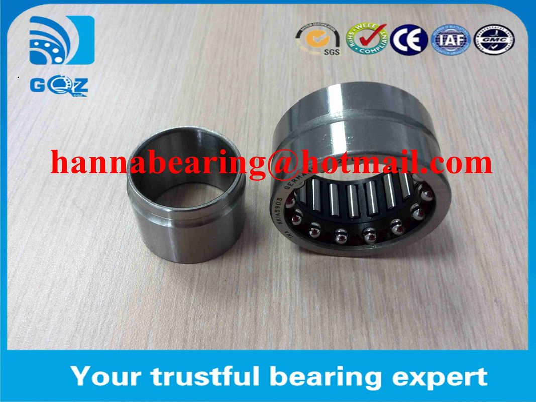 NKIA5906 Thrust  Needle Bearing / Angular Contact Bearing  With Oil Hole 30x47x23mm