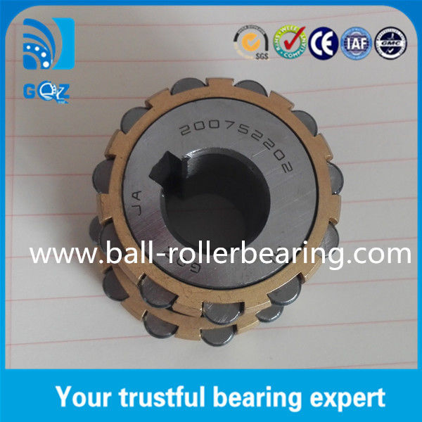 Brass Retainer Eccentricity Ratio 2 Eccentric Cylindrical Roller Bearing 200752202