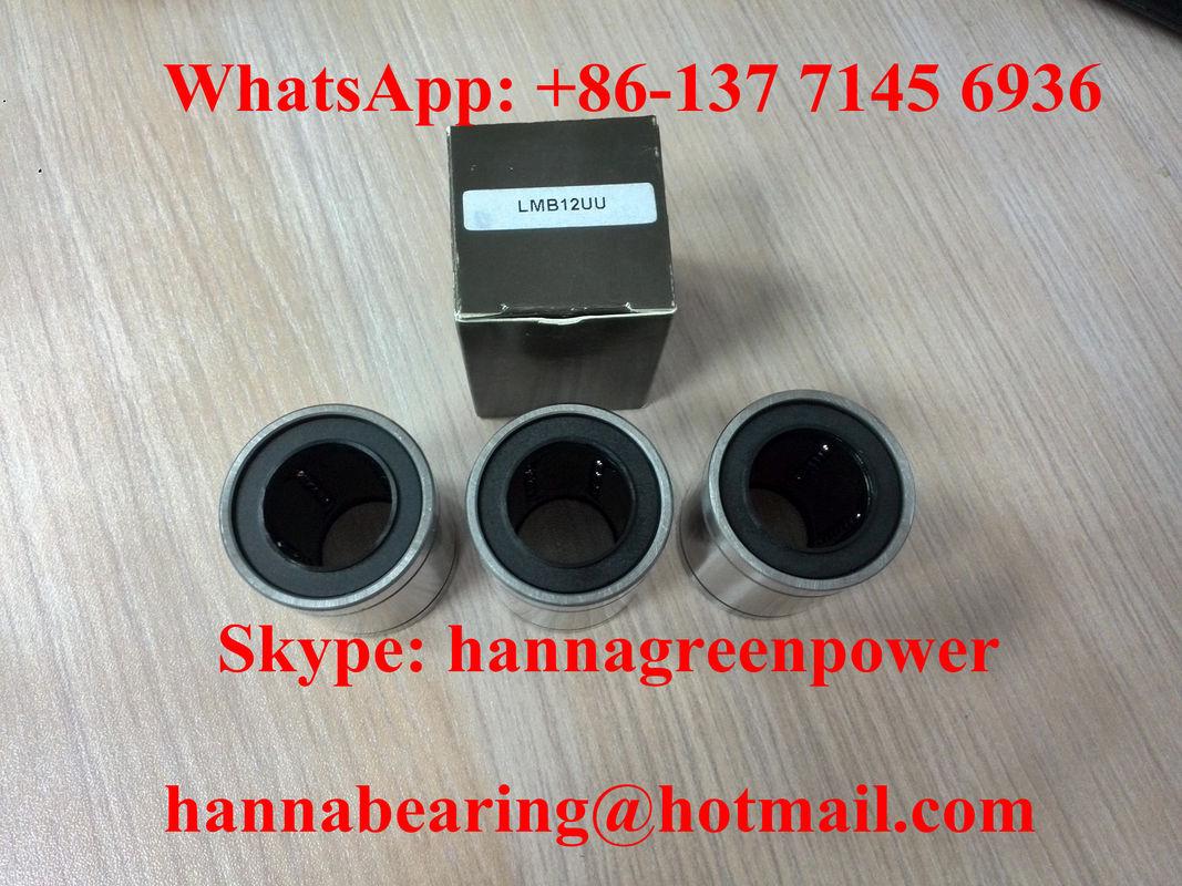 LMB12UU Linear Busing LBB12UU Linear Ball Bearing 19.05x31.75x41.275mm