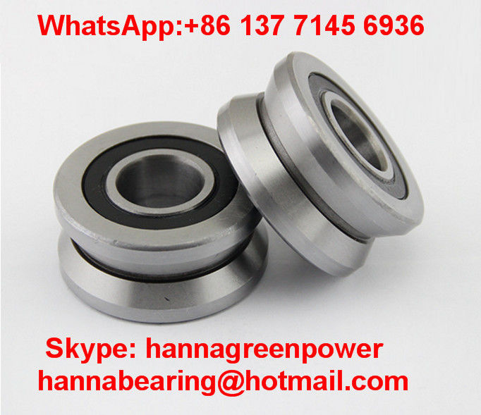 V Groove Guide Roller Super Precision Bearings LV20/8ZZ Track Roller Bearing LV20/8-2RS