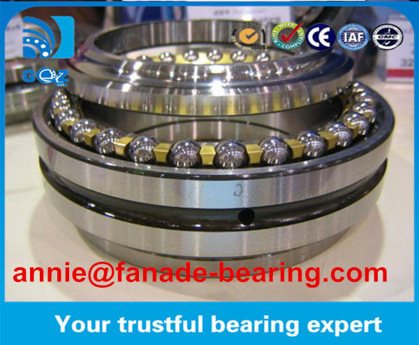 Double direction NSK Chrome Steel Axial Angular Contact Ball Bearing