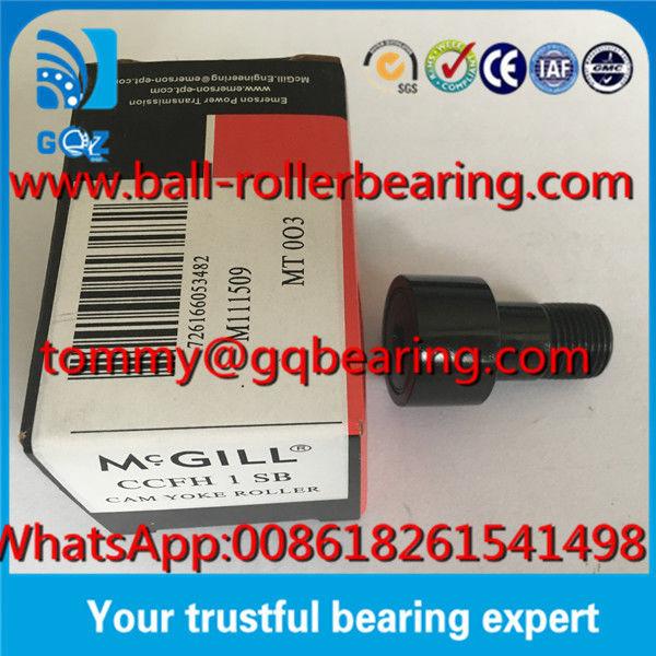 1.0000 Roller Diameter Heavy Stud Type McGill CCFH 1 SB Cam Follower Bearing