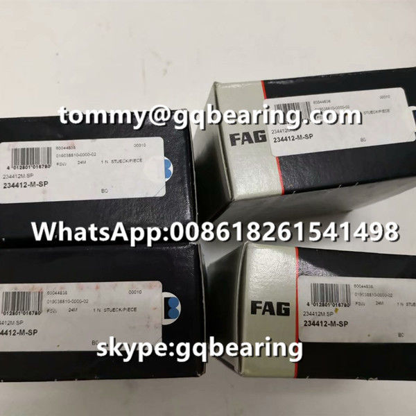 Double Direction FAG 234412-M-SP Axial Angular Contact Ball Bearing