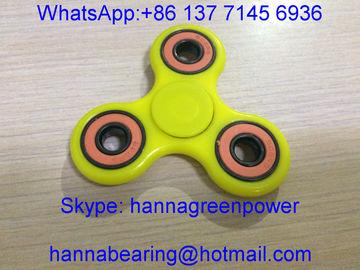 Niedriger Preis-Handspinner/Tri Unruhe-Finger-Spielzeug mit keramischen Kugellagern 608-2RS